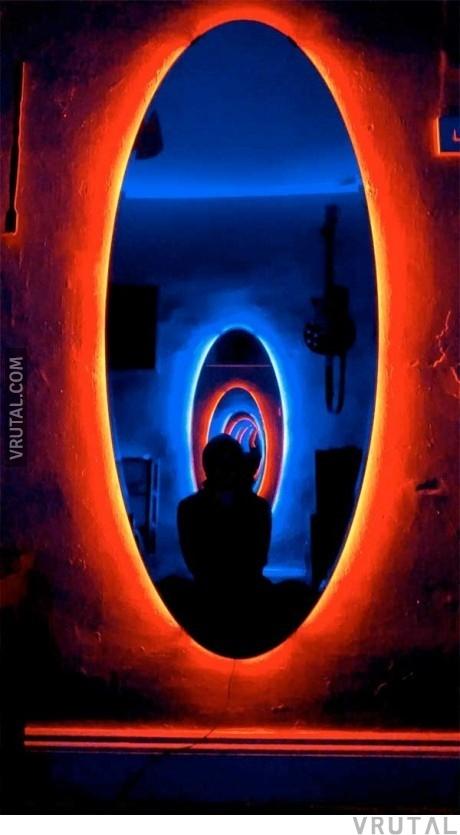 Vrutal pasillo portal h ztelo en tu casa con dos - Luces para espejos ...