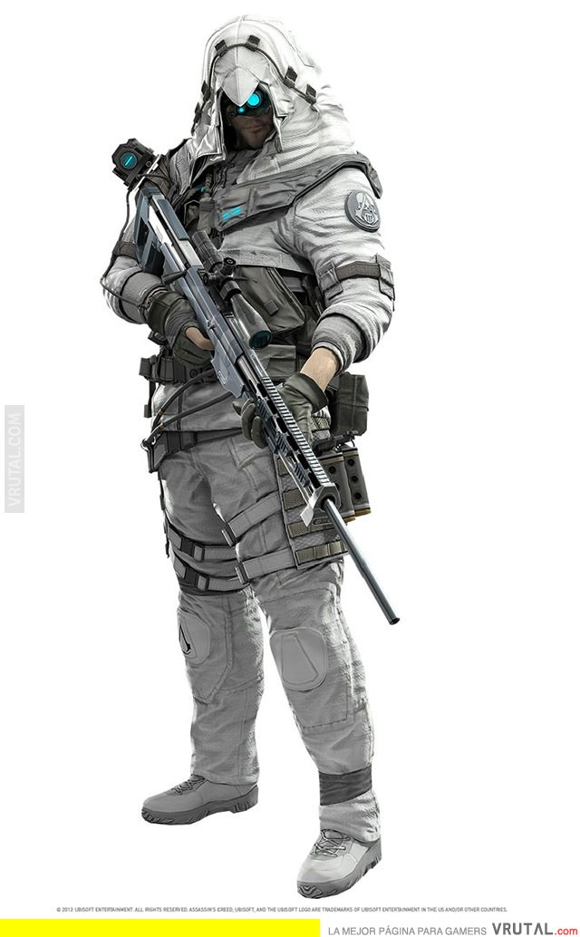 VRUTAL / Assassin's Creed + Ghost Recon = LOCURA