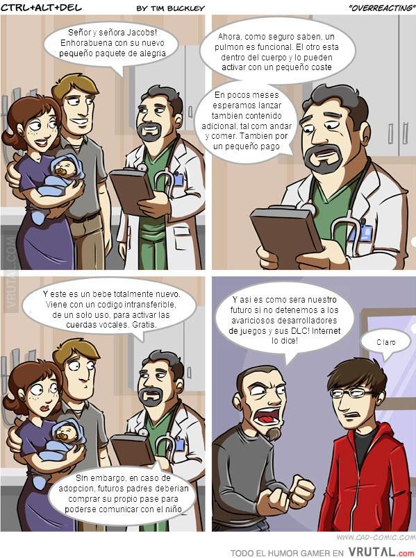 Viñetas comicas sobre videojuegos. VRU_18627_el_futuro_de_los_dlc