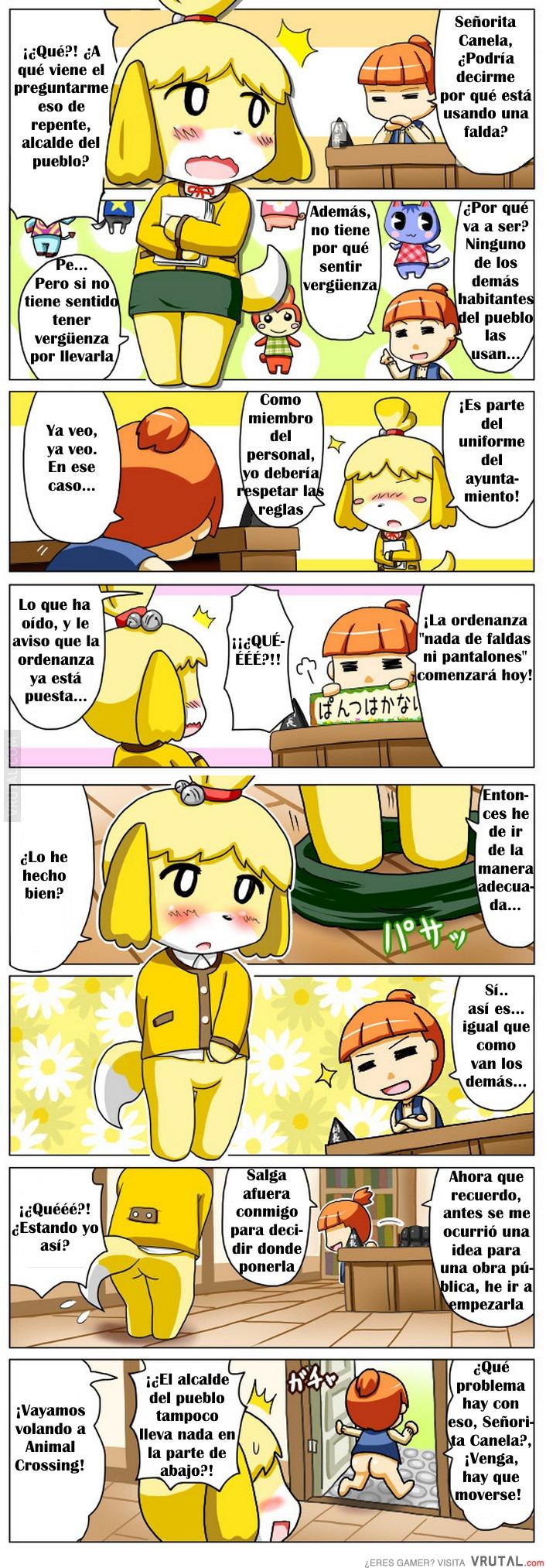 Animal Crossing Porn Comic vrutal / las ordenanzas de animal crossing