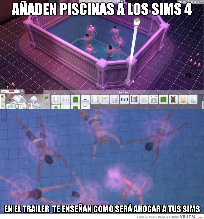 Vrutal los sims 4 recuperan la esencia original las for Piscina sims 4