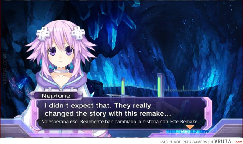 VRUTAL / Hyperdimension Neptunia Rebirth y sus roturas de la cuarta ...