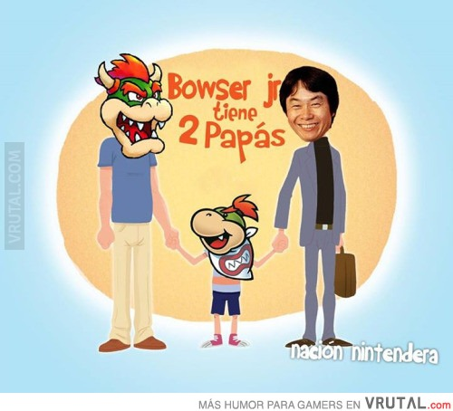Game Theory : Who are Rosalina's parents? VRU_59554_bowser_jr_tiene_2_papas