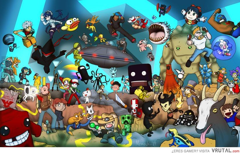 Vrutal Cuantos Indies Conoces Todo Sobre Videojuegos 3djuegos