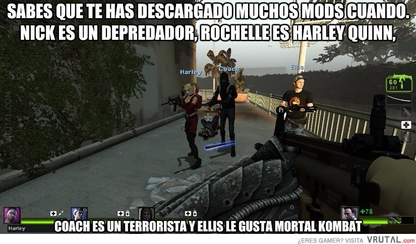 VRUTAL / Left 4 Dead 2 y sus mods raros