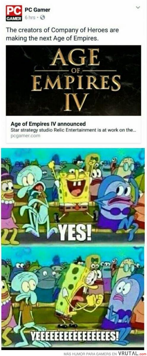 VRUTAL / Mi reacción al ver el nuevo Age of Empires IV