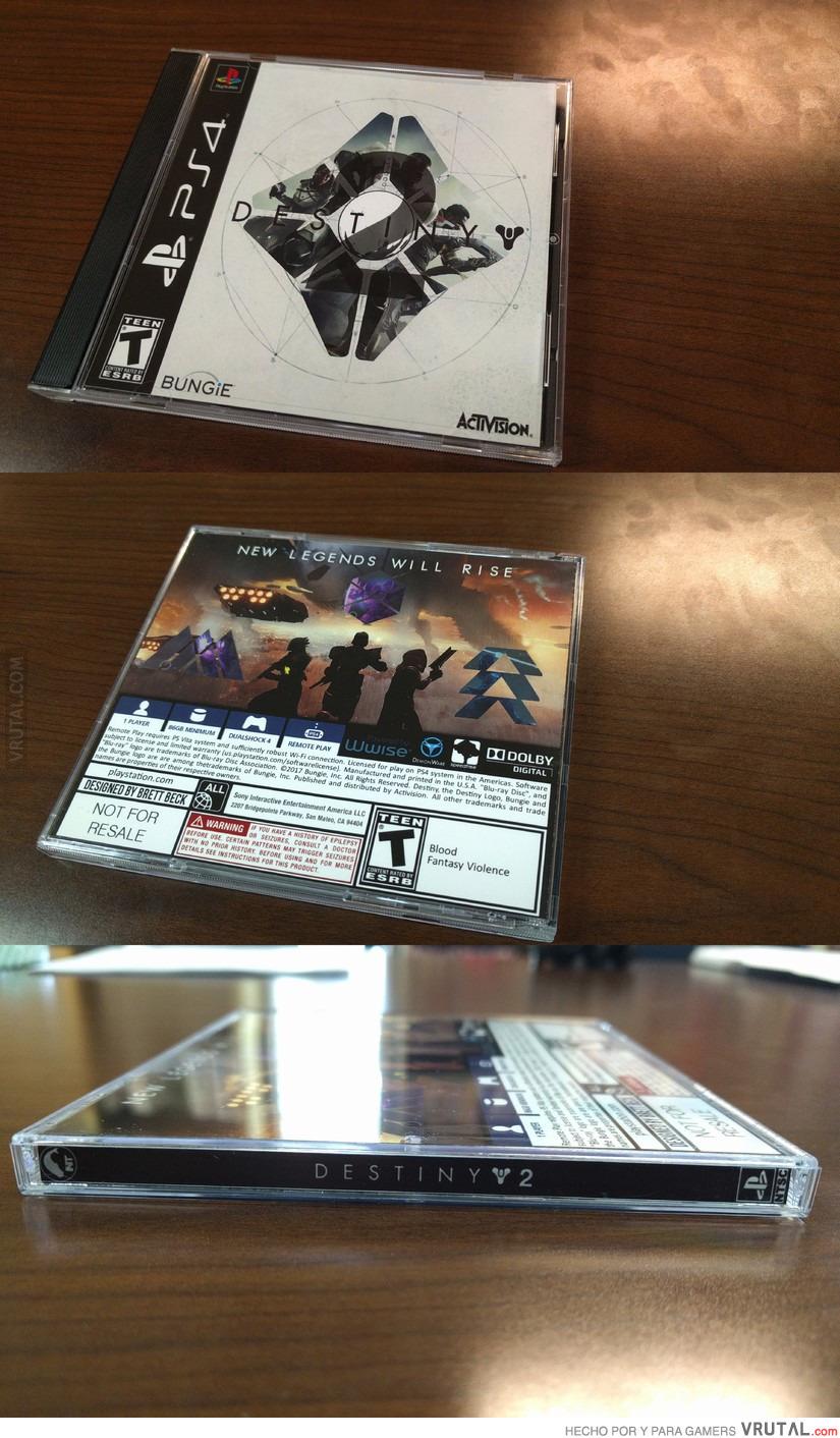 Vrutal Asi Seria Destiny 2 Si Fuese Un Juego De Play 1