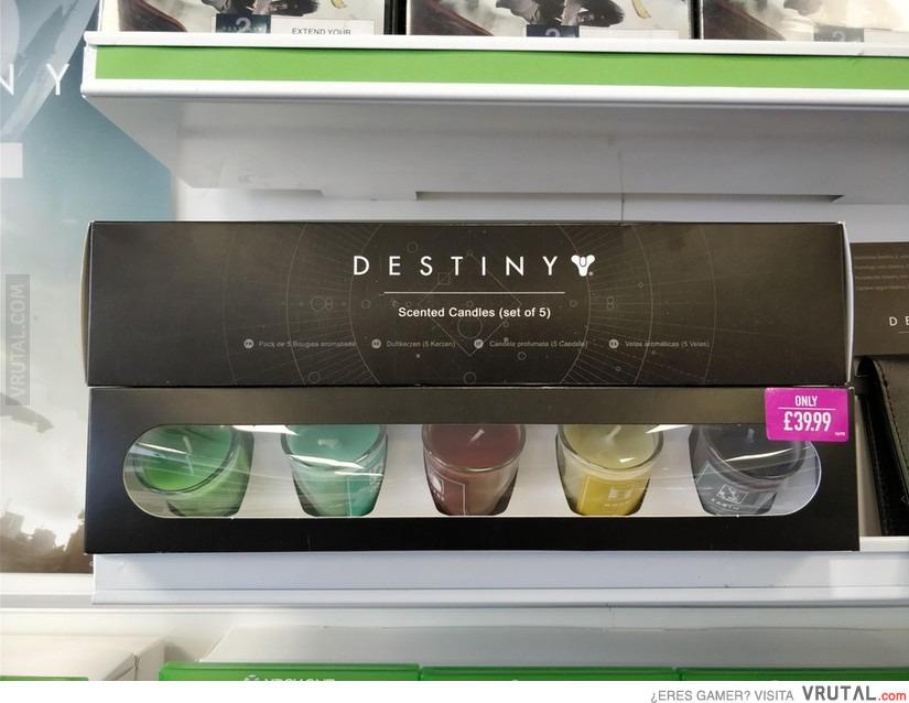 292fd4a2e VRUTAL / Seguro que alguien pagará un pastón por estas velas de Destiny