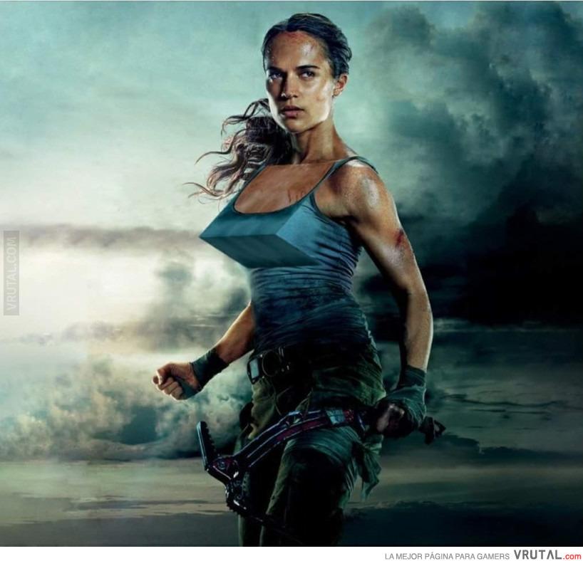 Wallpaper Tomb Raider 2018: VRUTAL / Así Debería Ser Lara Croft En La Nueva Película
