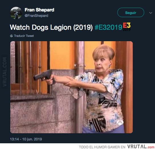 Vrutal La Abuela De Watch Dogs Legion Ya Se Ha Convertido En Meme