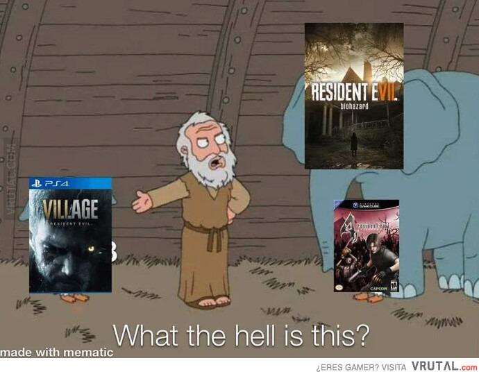 VRUTAL / Así nació Resident Evil Village