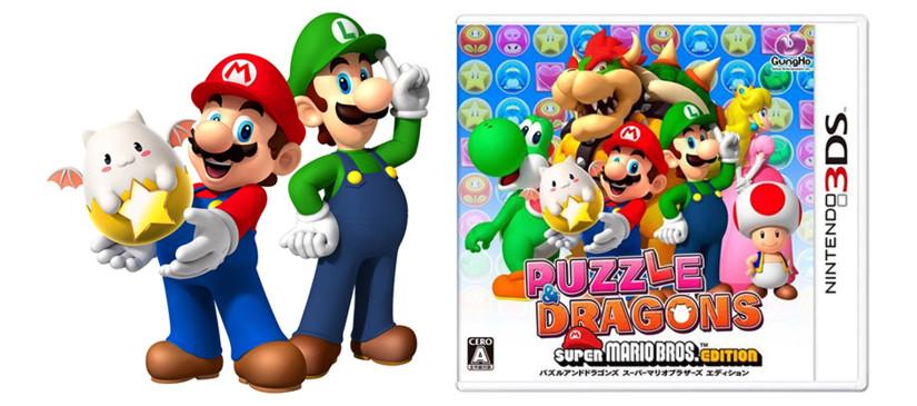 Vrutal Nintendo Anuncia Puzzle Dragons Super Mario Bros Edition