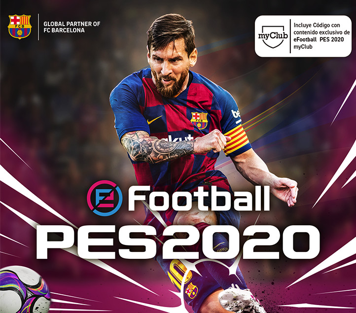 Konami presenta la revolución: eFootball PES 2020 PS4 XBO PC SWITCH