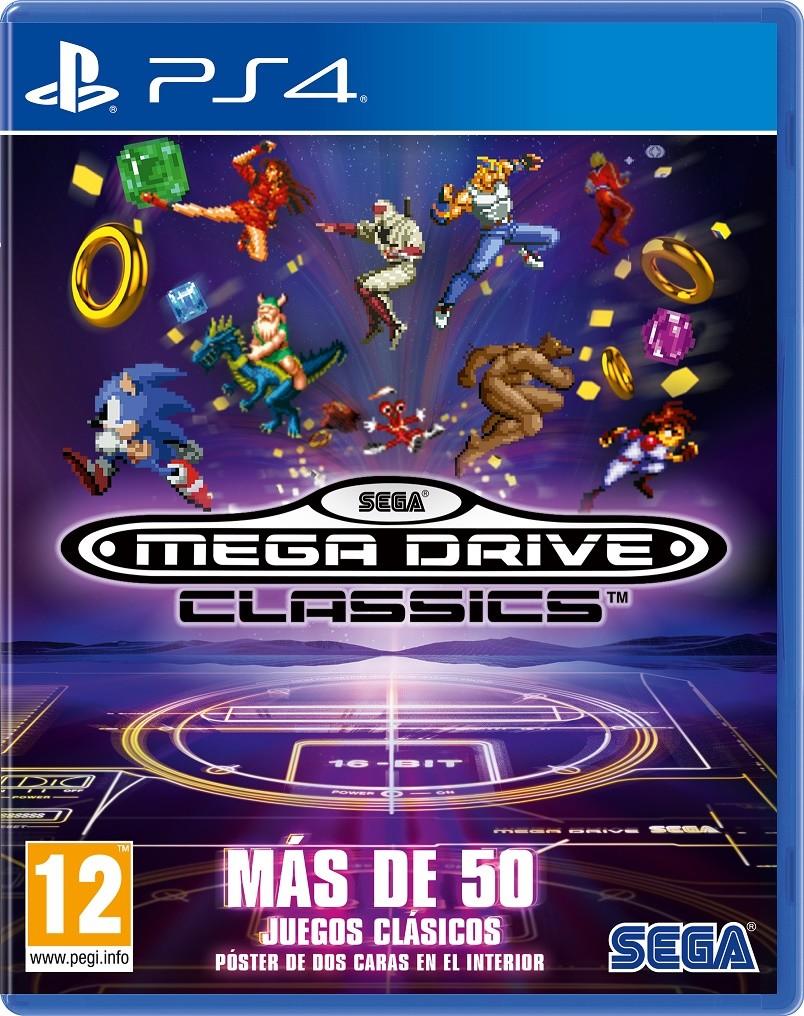 Vrutal Sega Anuncia Mega Drive Classics Para Ps4 One Y Pc