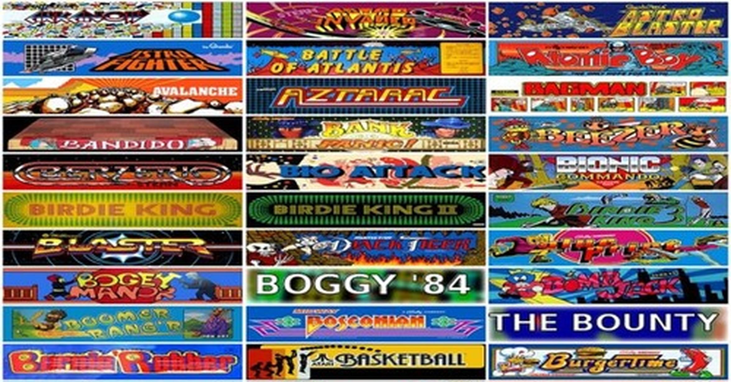 Buena parte del inicio de los videojuegos, disponible a través de tu navegador