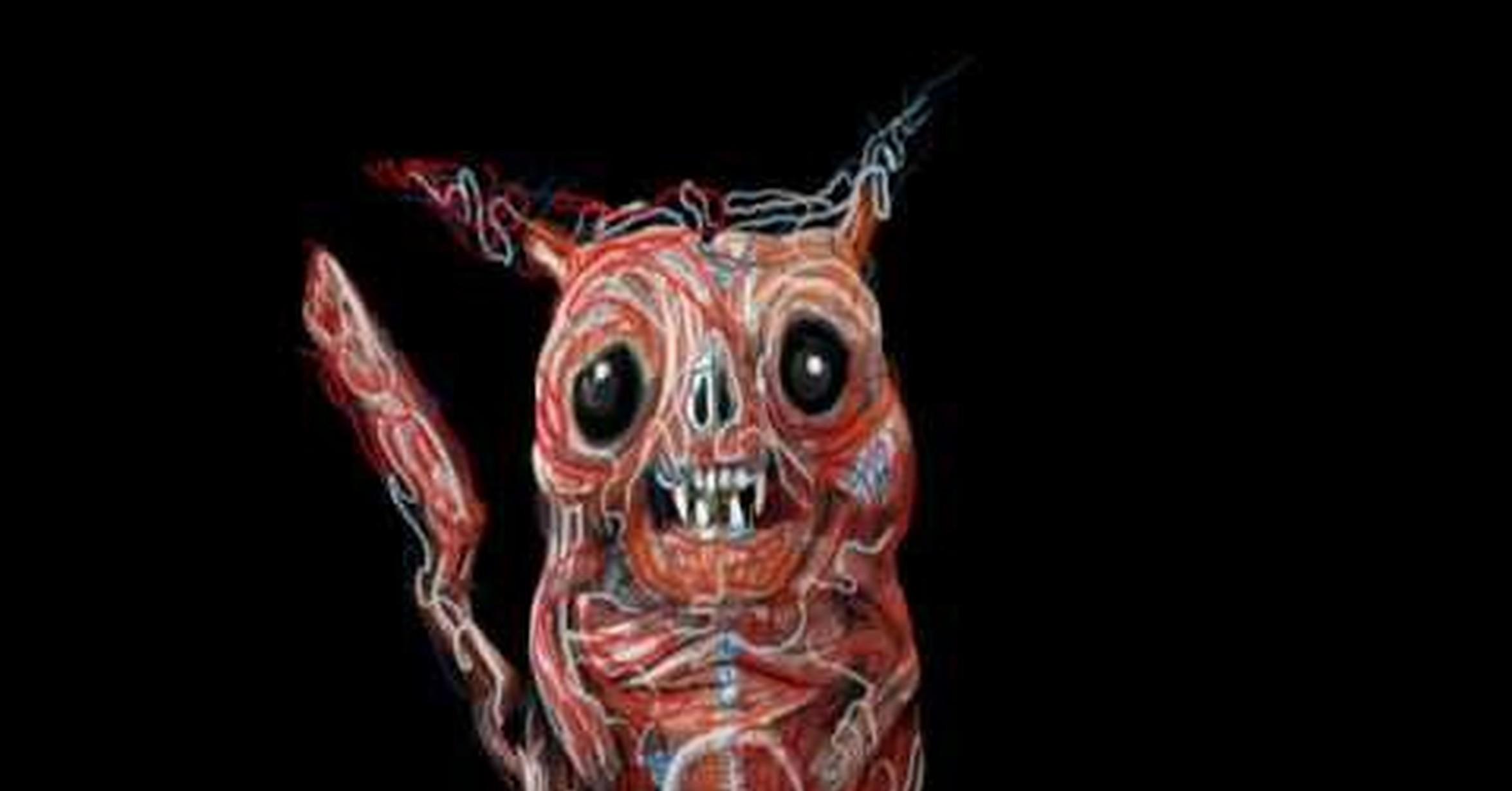 VRUTAL / Anatomía de un Pikachu (dibujando a pikachu desde dentro)
