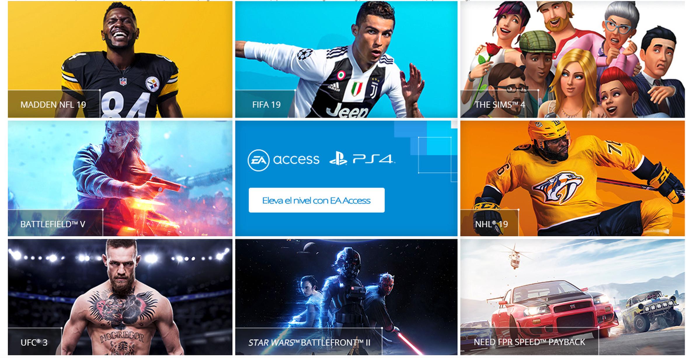 Resultado de imagen de EA Access