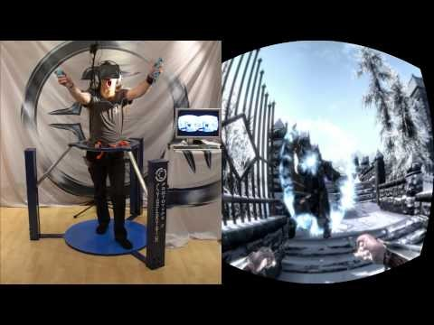 how to play skyrim vr