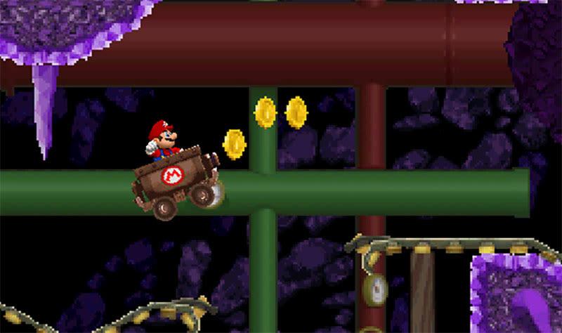 Vrutal Un Fan Crea Newer Super Mario Bros Para Nintendo Ds