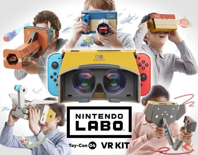 Nintendo lanza kit de realidad virtual para construir en casa