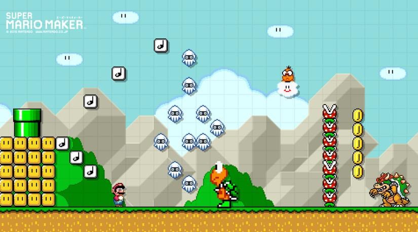 Vrutal Crea Tu Propio Wallpaper De Super Mario Maker Con Esta