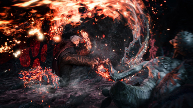 Nuevo tráiler gameplay de Devil May Cry 5 con Dante
