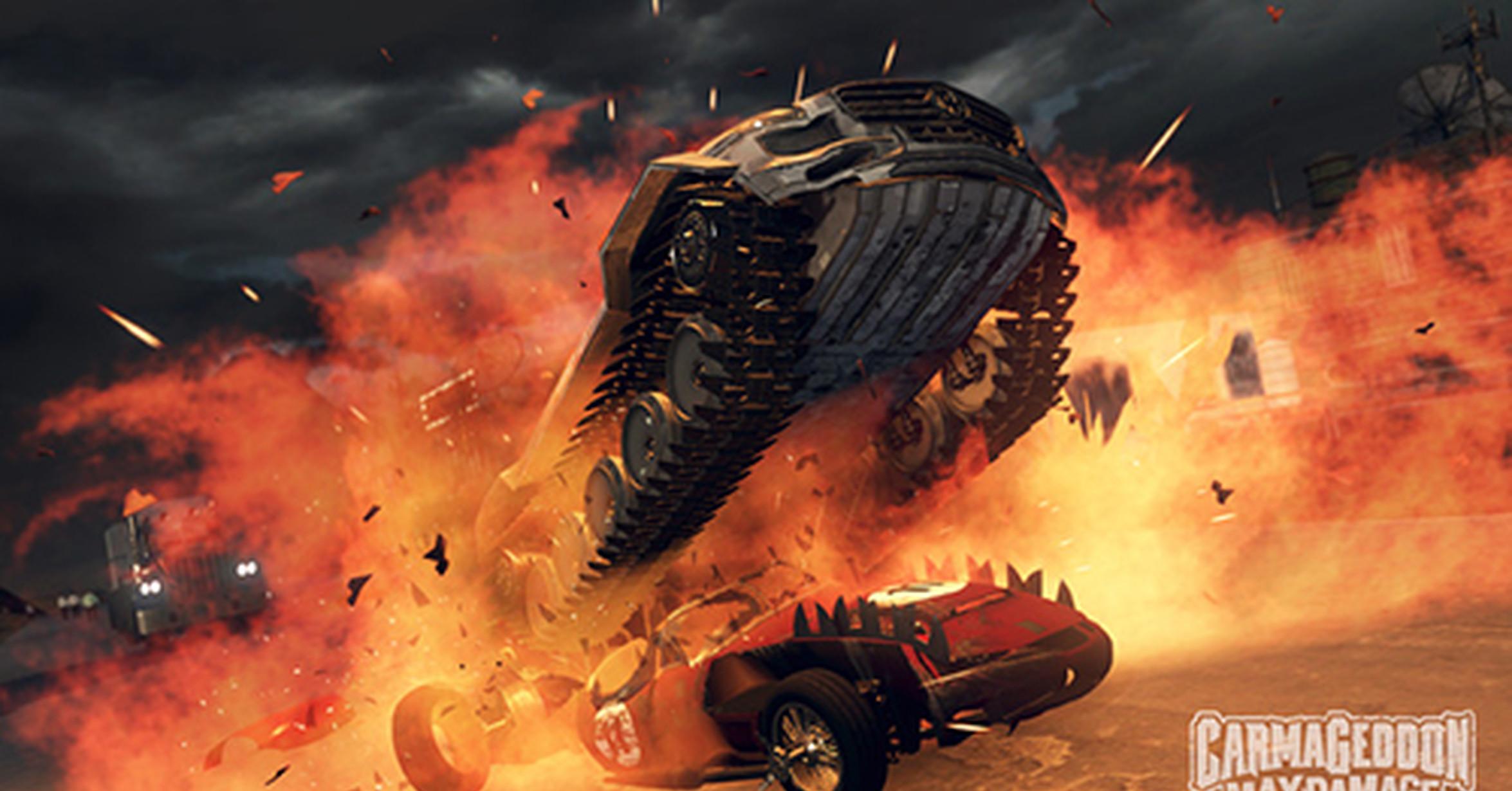 Vrutal se anuncia carmageddon max damage para ps4 y for Sillas para xbox one