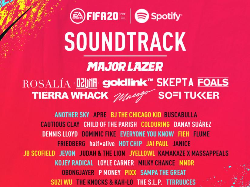 Rosalía pone música a FIFA 20 entre muchos otros artistas de éxito