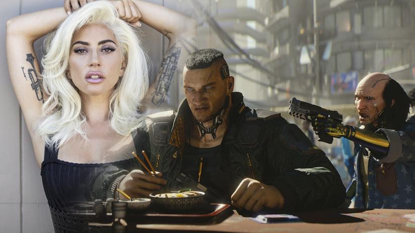 RUMOR: Lady Gaga aparecerá en Cyberpunk 2077