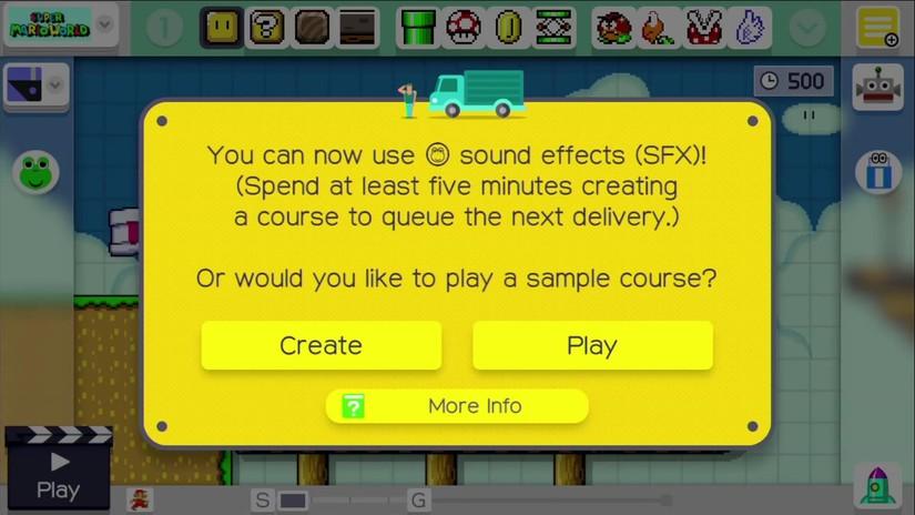 VRUTAL / En Super Mario Maker podremos crear nuestros propios sonidos