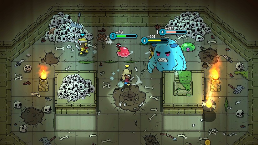 Vrutal The Swords Of Ditto Un Rpg Cooperativo Que Tiene Una Pinta