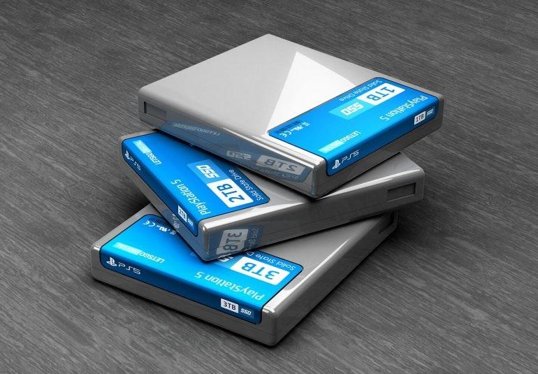 PlayStation 5: patentaron un extraño cartucho que podría ser un SSD removible