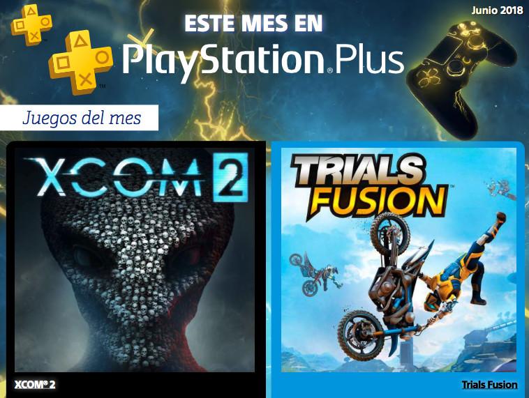 Se revelan los juegos de PlayStation Plus de junio 2018