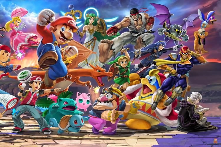 Nintendo anuncia Amiibo basado en Wolf de Star Fox — Super Smash Bros
