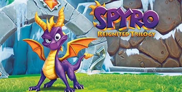 Spyro: Reignited Trilogy se retrasa hasta el mes de noviembre PS4