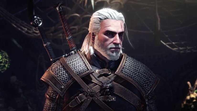 Geralt de Rivia estará en Monster Hunter World